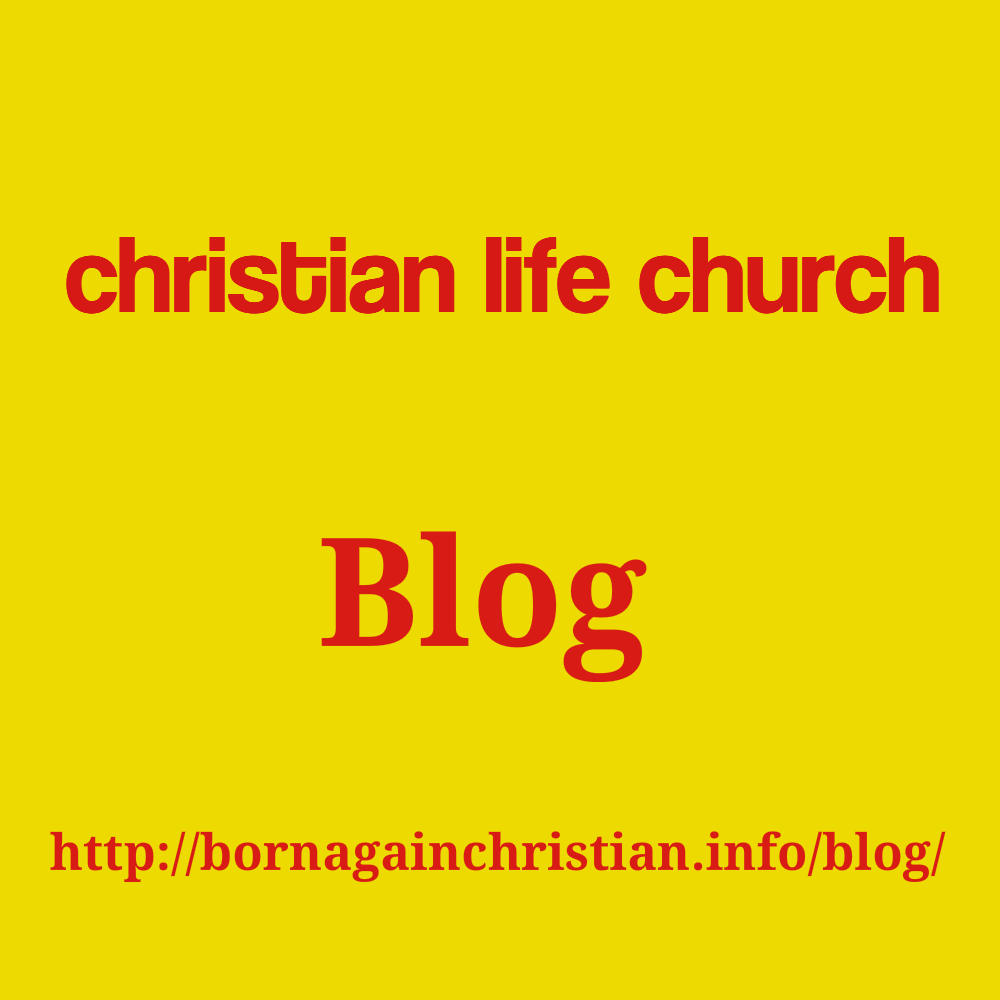 Christian Life Church Blog